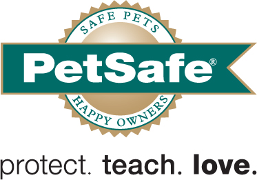 petsafe protect teach love on white black tag spot